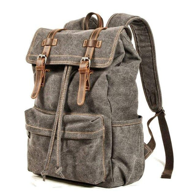 top goldman Desio Travel Backpack Gray