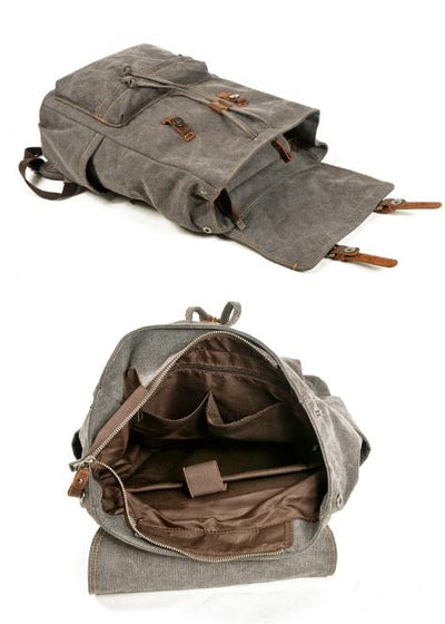 top goldman Desio Travel Backpack Khaki