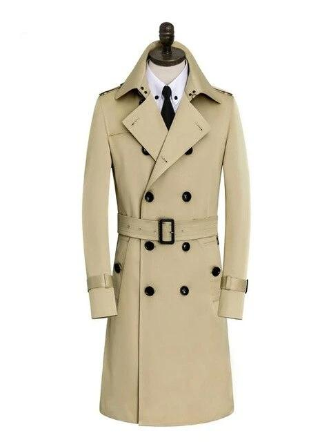 Licata Cotton Coat overcoats for men khaki M