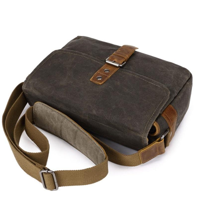 top goldman Milazzo Canvas Waterproof Camera Bag army green