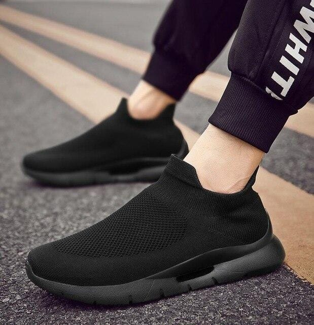 Breathable slip-on sport casual sneakers