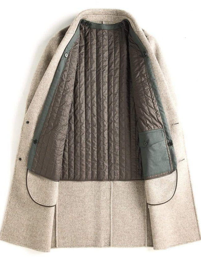 Rovigo Wool Overcoat winter coat jacket for men Gray