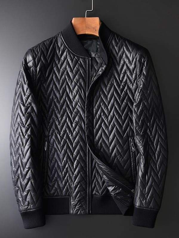 topman topgoldman boss luxury elegant jackets for men-BLACK HM-19005-XXXL