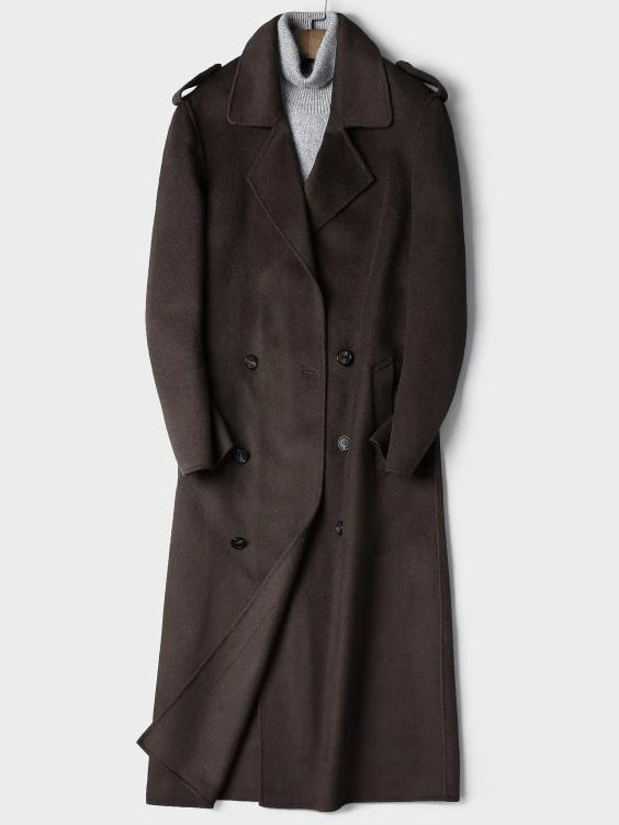 Bolsena Wool Overcoat winter coat jacket for men coffee