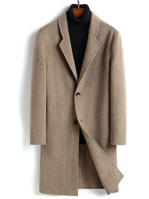 Torcello Cashmere Wool Coat winter coat jacket for men Beige