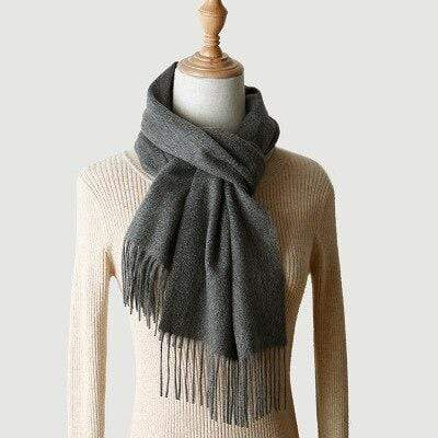 topman topgoldman boss luxury elegant scarf scarves for men-Dark Gray-180-30 cm