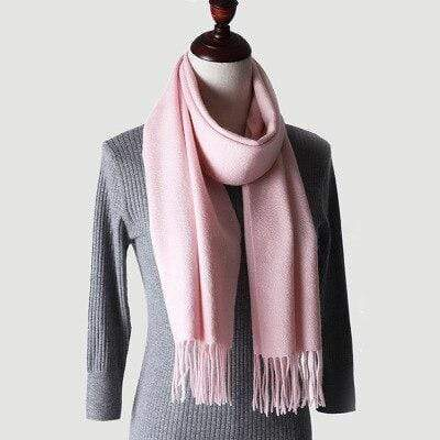 topman topgoldman boss luxury elegant scarf scarves for men-Light Pink-180-30 cm