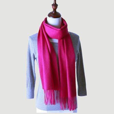 topman topgoldman boss luxury elegant scarf scarves for men-Rose-180-30 cm