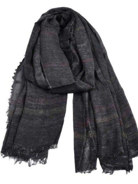 topman topgoldman boss luxury elegant scarf scarves for men-BLACK-90X190CM