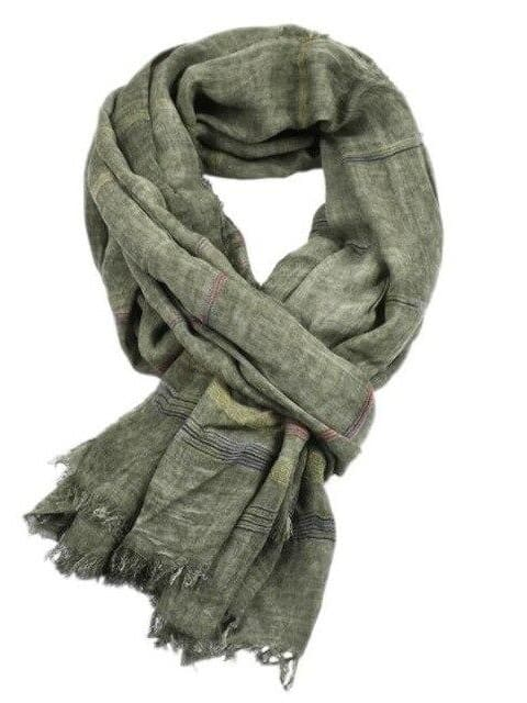 topman topgoldman boss luxury elegant scarf scarves for men-GREEN-90X190CM