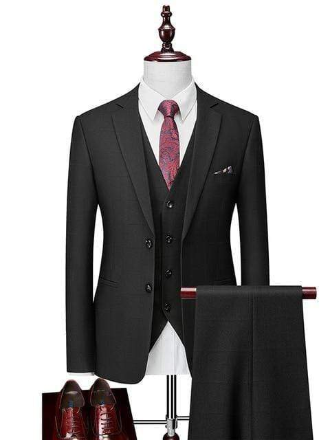 topman topgoldman boss luxury elegant business suits-Multi-L