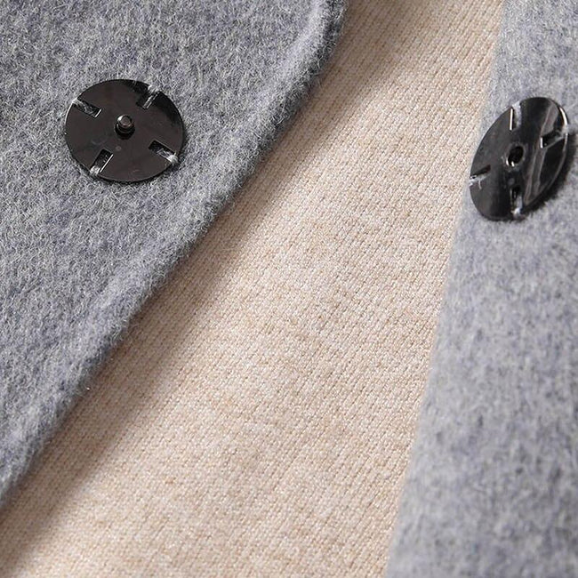 Giovanni Wool Overcoat winter coat jacket for men Gray