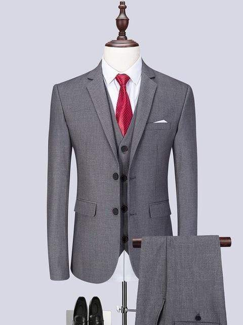 topman topgoldman boss luxury elegant business suits-Light grey-XL