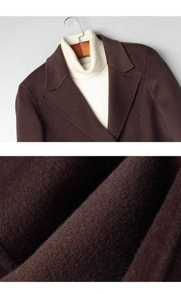 Taranto Wool Overcoat winter coat jacket for men Gray