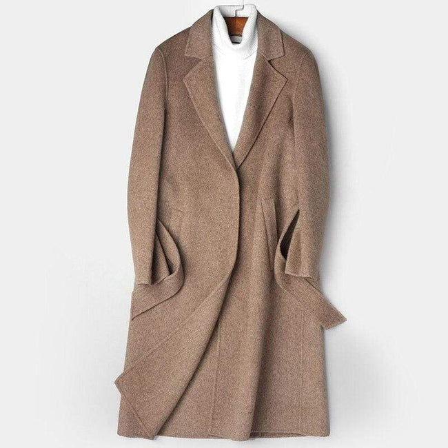Monte Wool Overcoat winter coat jacket for men gray