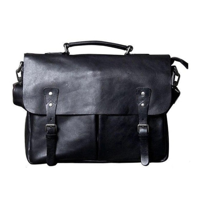 Men's Genuine Leather Casual Handbag