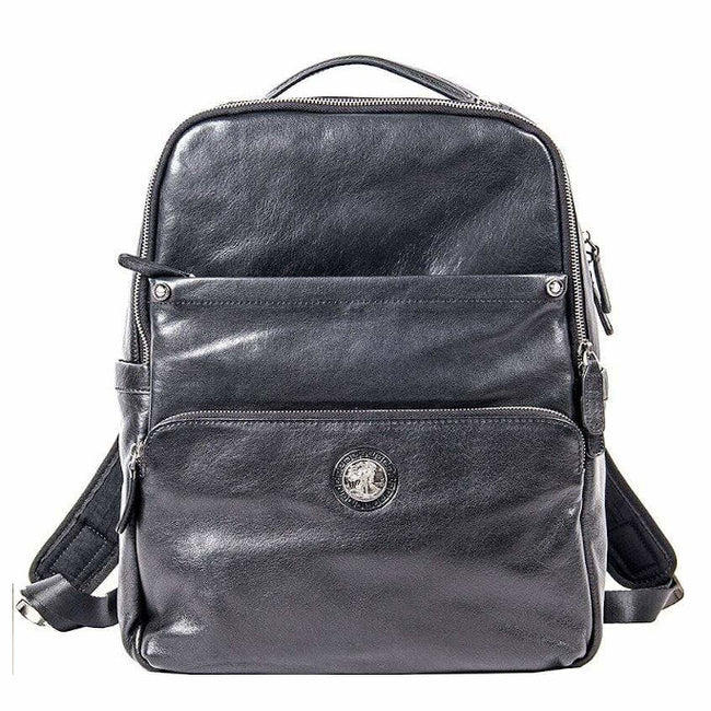 Men's Genuine Leather Backpack 15.6-inch