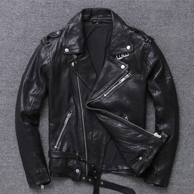Perugia Real Leather Jacket real leather biker jacket for men 2