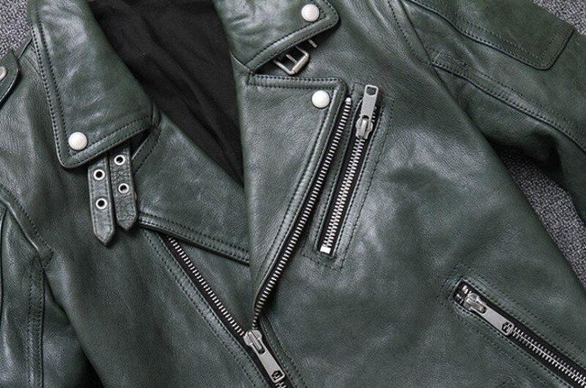 Perugia Real Leather Jacket real leather biker jacket for men 3