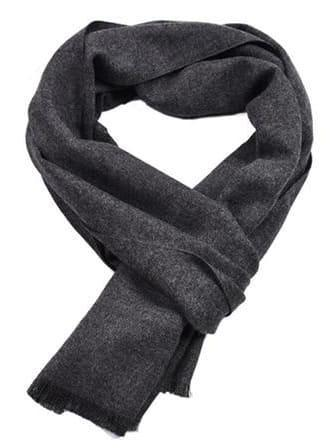 topman topgoldman boss luxury elegant scarf scarves for men-Navy Blue-30x180cm