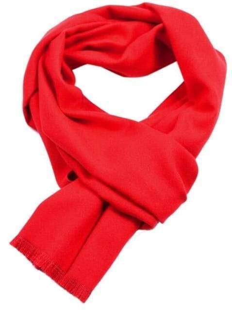topman topgoldman boss luxury elegant scarf scarves for men-Red-30x180cm