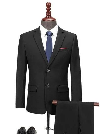 topman topgoldman boss luxury elegant business suits-Black-M