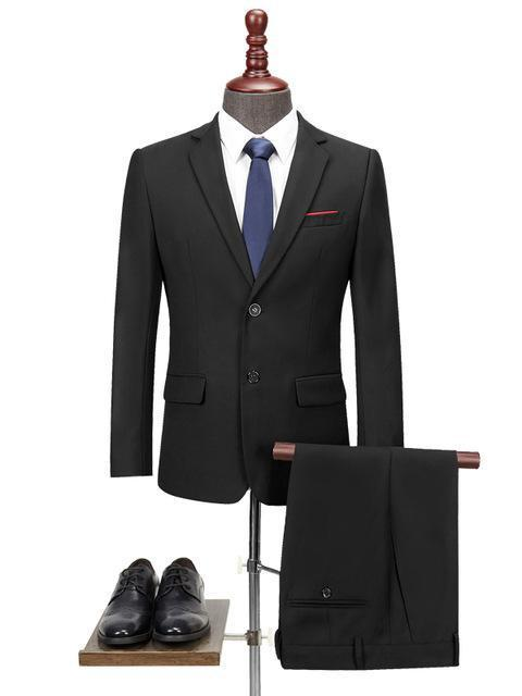 topman topgoldman boss luxury elegant business suits-Black-S