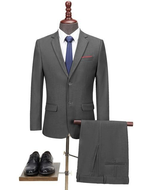 topman topgoldman boss luxury elegant business suits-Gray-XXL