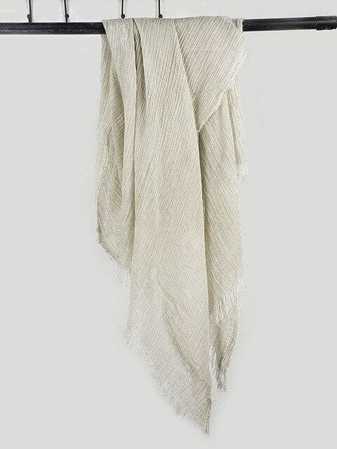 topman topgoldman boss luxury elegant scarf scarves for men-beige-