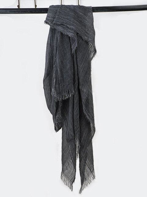 topman topgoldman boss luxury elegant scarf scarves for men-black-