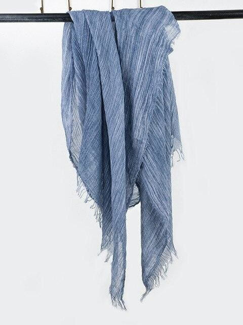topman topgoldman boss luxury elegant scarf scarves for men-blue-