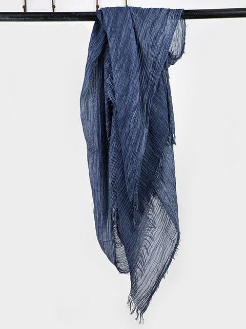 topman topgoldman boss luxury elegant scarf scarves for men-navy-