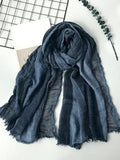 topman topgoldman boss luxury elegant scarf scarves for men-RL BLACK-