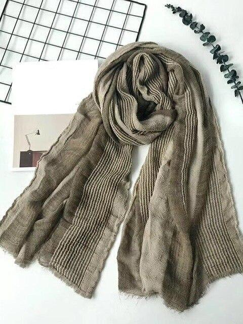 topman topgoldman boss luxury elegant scarf scarves for men-RL CAMEL-