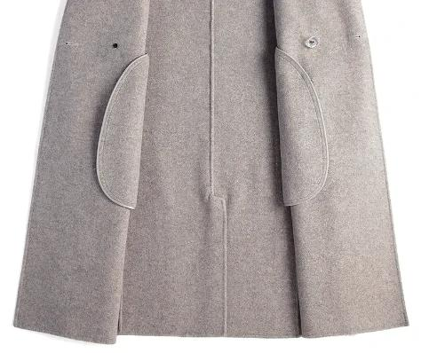 Vittorio Wool Overcoat winter coat jacket for men Light Brown