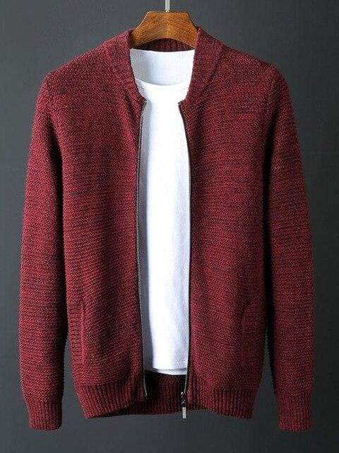 topman topgoldman boss luxury elegant sweaters for men-RED-4XL