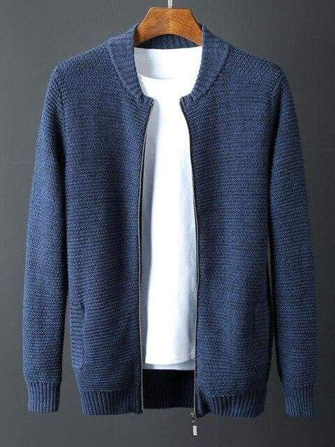 topman topgoldman boss luxury elegant sweaters for men-BLUE-4XL