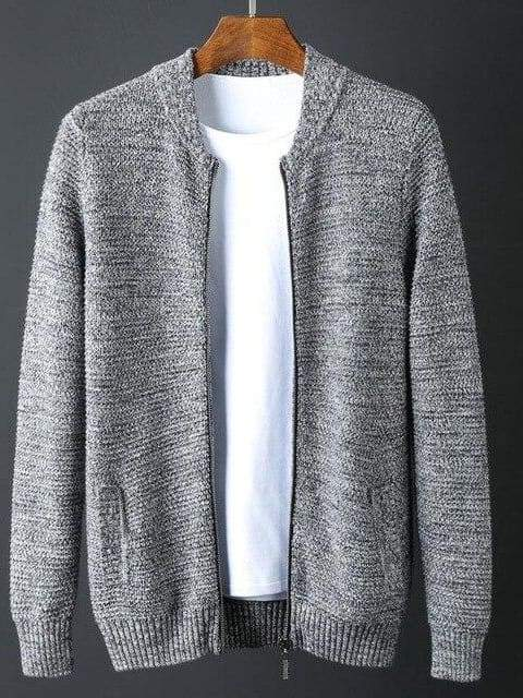 topman topgoldman boss luxury elegant sweaters for men-GREY-4XL