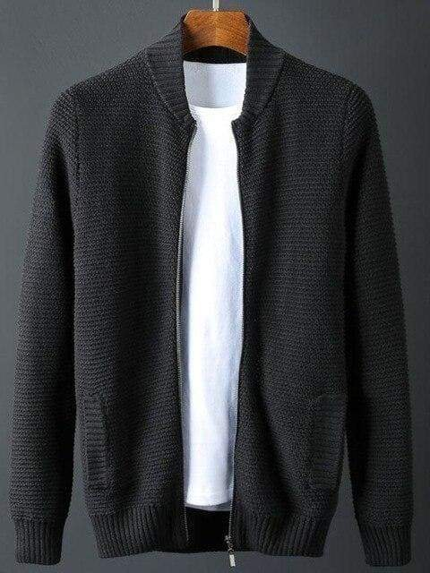 topman topgoldman boss luxury elegant sweaters for men-BLACK-L