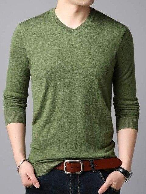 topman topgoldman boss luxury elegant sweaters for men-Green-L