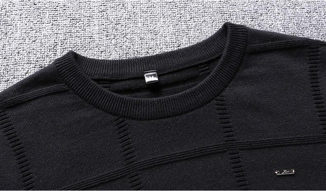 topman topgoldman boss luxury elegant sweaters for men-asian size-black-M