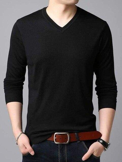 topman topgoldman boss luxury elegant sweaters for men-black-M