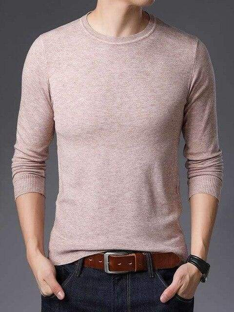 topman topgoldman boss luxury elegant sweaters for men-Beige-XXL