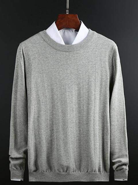 topman topgoldman boss luxury elegant sweaters for men-Light grey-XXXL