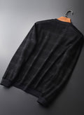 topman topgoldman boss luxury elegant sweatshirt for men-BLACK HWZ20020-XXL