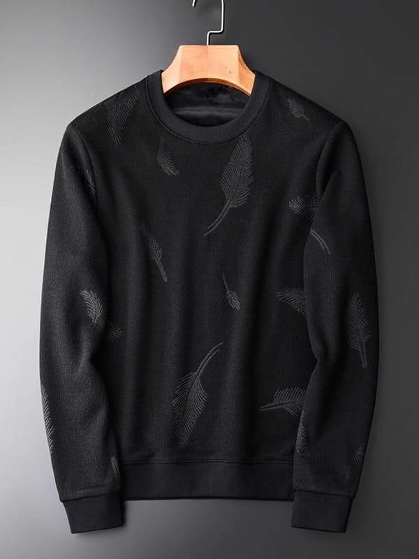 topman topgoldman boss luxury elegant sweatshirt for men-H-W1839-M