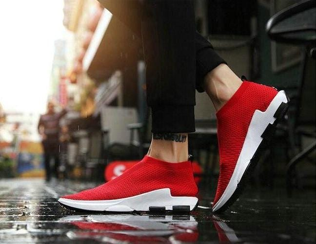 Breathable Air Mesh Casual Sneakers
