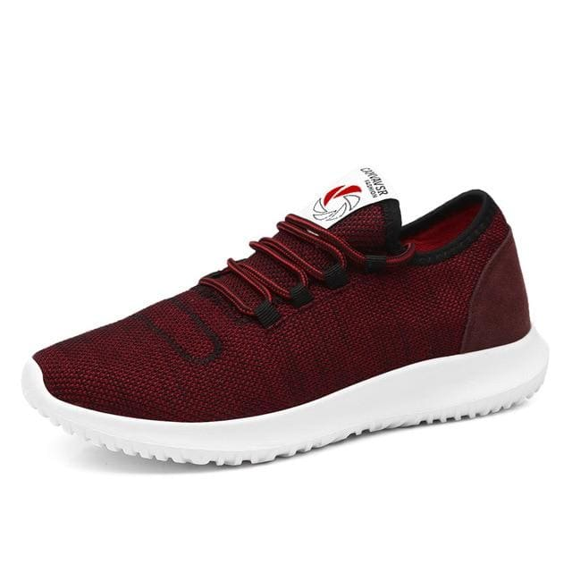 topman topgoldman boss luxury elegant gym running trainers for men-Red B-5