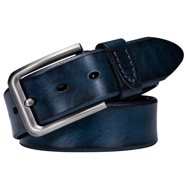 topman topgoldman boss genuine leather belt - ZK-2017-E-115cm