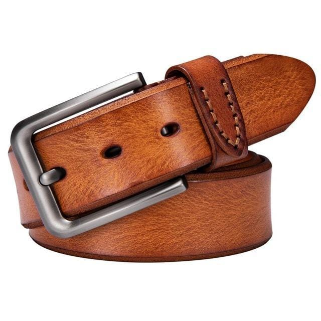 topman topgoldman boss genuine leather belt - ZK-2017-F-115cm